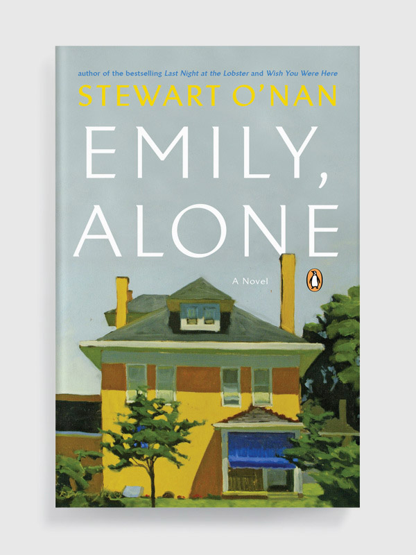 Emily, Alone by Stewart O'Nan book cover