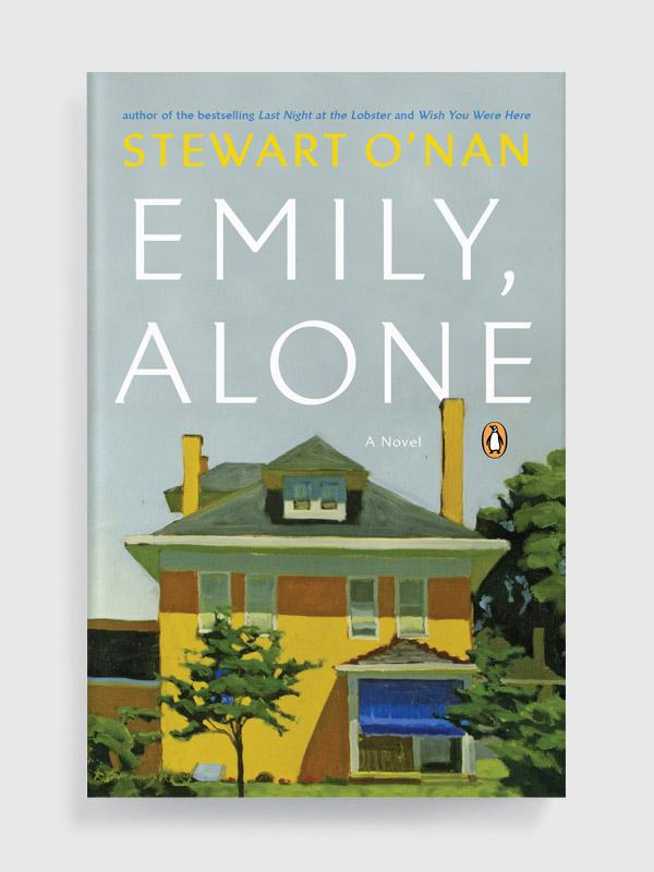 Emily, Alone by Stewart O'Nan book cover