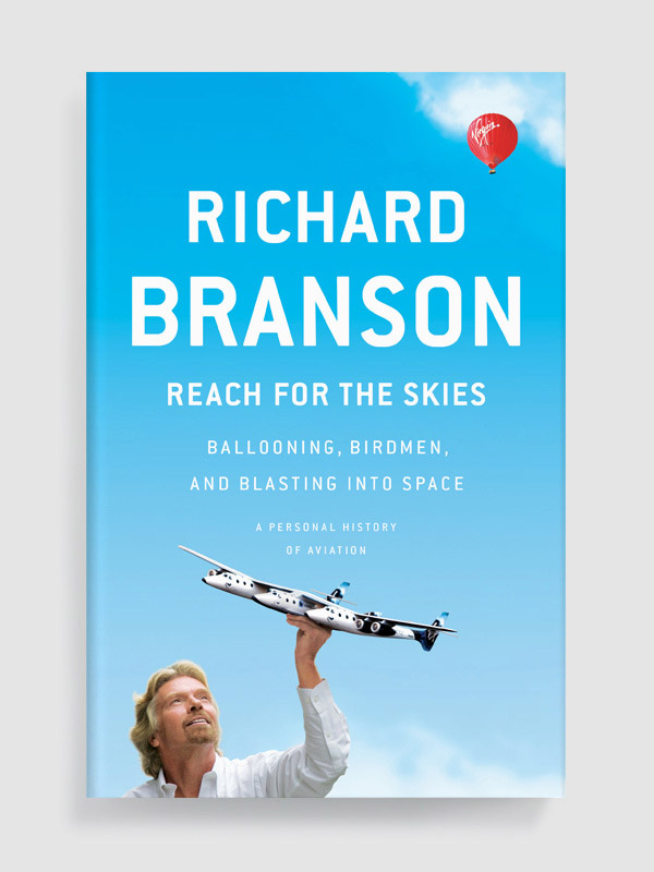 Reach for the Skies by Richard Branson book cover