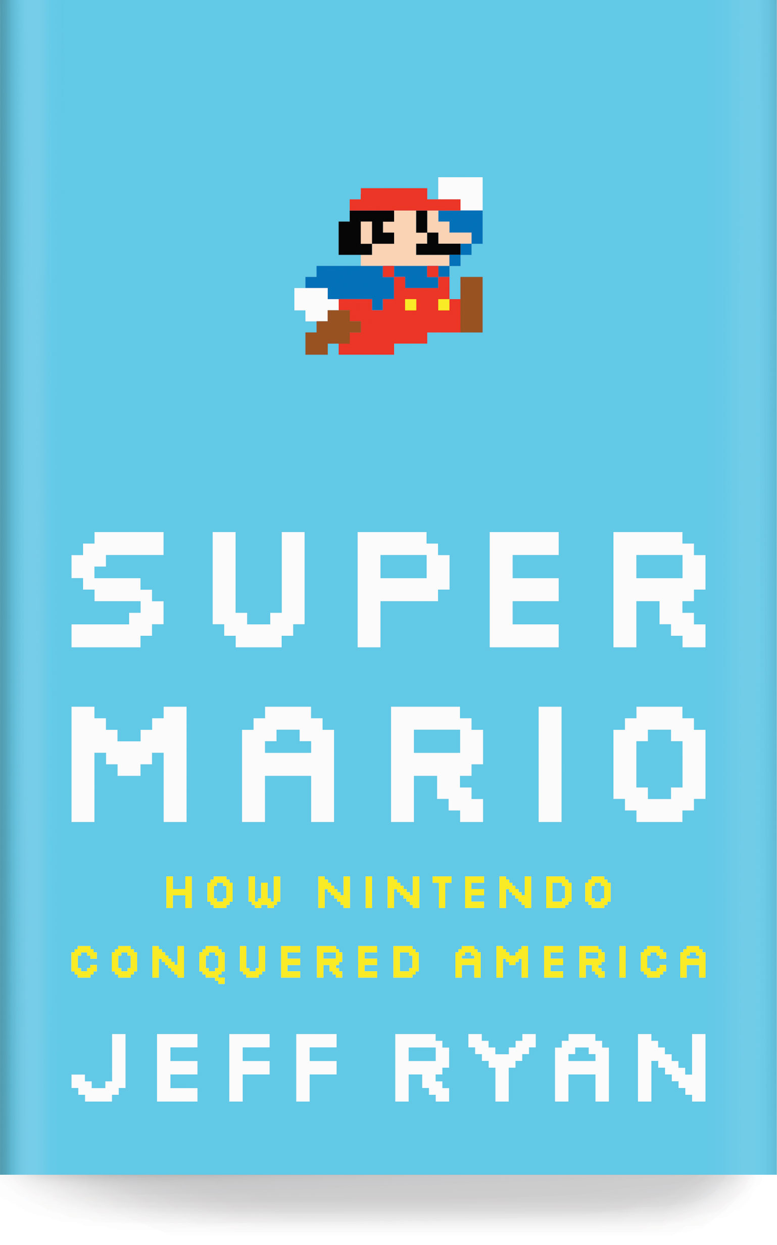 Super Mario by Jeff Ryan book cover