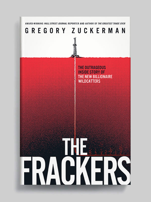 The Frackers by Gregory Zuckerman book cover