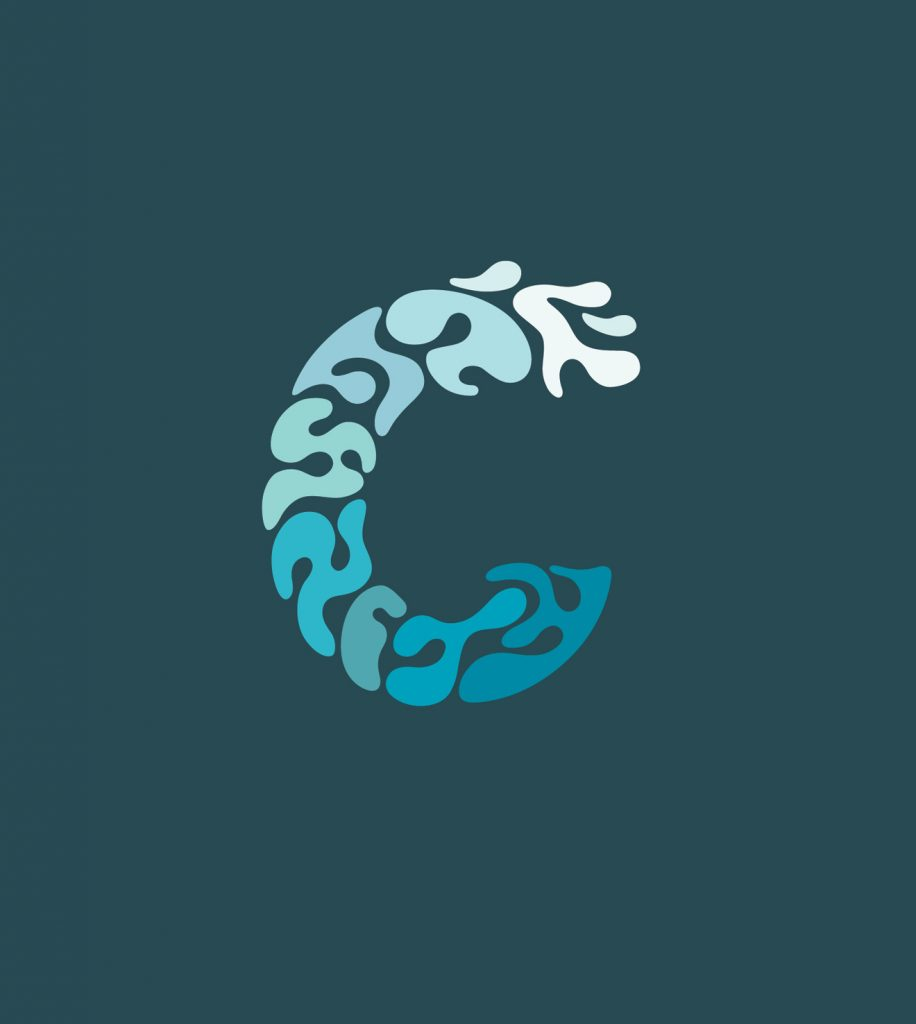 Clearwater Therapy Center logo icon design